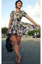 beige asos dress