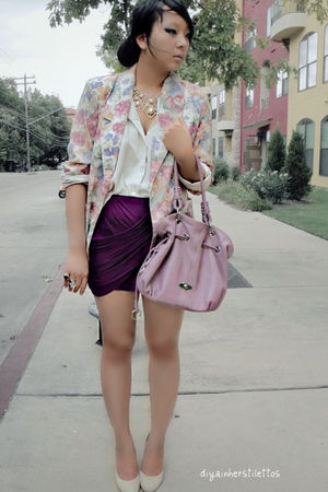 beige vintage blazer