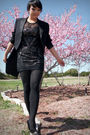Black-vintage-feathers-boutique-blazer-black-f21-dress