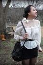White-vintage-shirt-f21-skirt-random-belt-the-sak-purse-tabio-tights-a