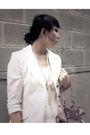 White-blazer-scarf