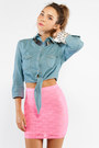 Neon-see-you-monday-skirt