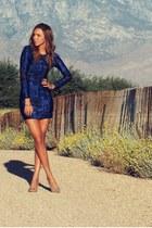 Castles Couture dress - leopard print Tusc Boutique heels