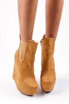 booties suede boots