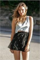 festival style Reverse skirt