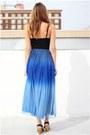 Ombre Dip Dye Motel Skirts