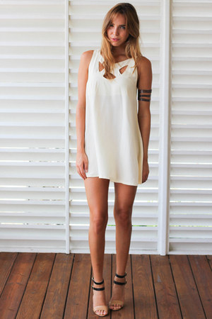 cream Lenni dress
