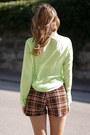 Reverse-blouse