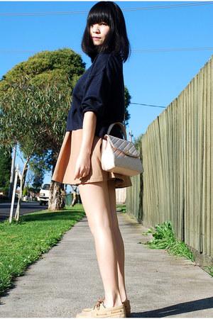 Chanel bag - vintage jumper