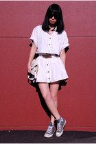 Ezzentric topz vintage shirt - Ezzentric topz vintage skirt