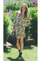 tashi dress - LYDC bag