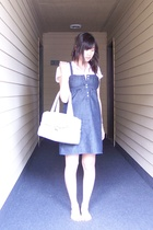 Gap shirt - Gap dress - Kenneth Cole purse