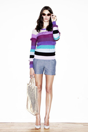 Sonia by Sonia Rykiel sweater - Rogan shorts - Les prairies de Paris shoes - Rac