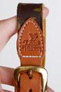 Brown-vintage-louis-vuitton-belt