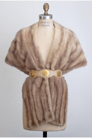 light brown vintage jacket