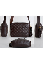 Brown Vintage Chanel Bags