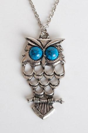silver vintage necklace