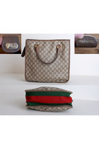 Brown Vintage Gucci Bags
