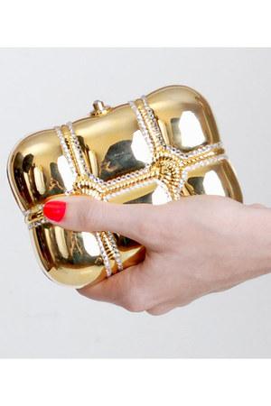 gold vintage purse