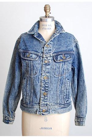 blue Vintage Lee jacket