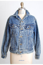 blue Vintage Lee jacket