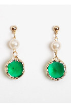 Green-vintage-earrings