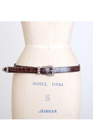 brown vintage Brighton belt