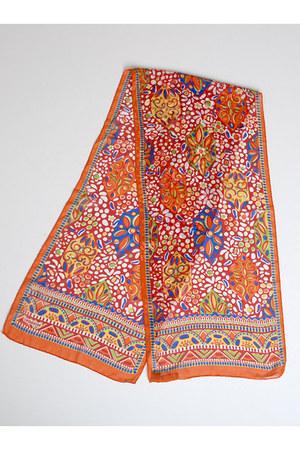 carrot orange Vintage Missoni scarf
