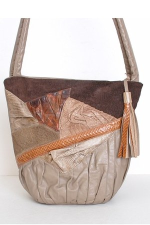 light brown vintage bag