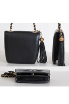 Black Vintage Chanel Bags