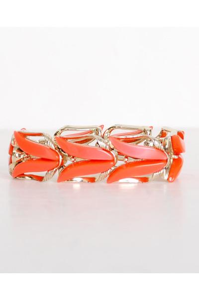 orange vintage bracelet