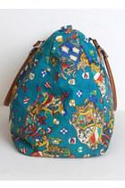 Teal Vintage Gitano Bags