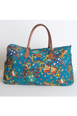 teal vintage Gitano bag