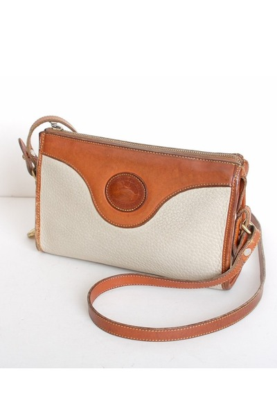 ivory vintage Dooney & Bourke bag