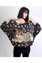 Gold-vintage-blouse