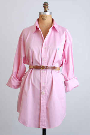 pink Vintage Ralph Lauren shirt