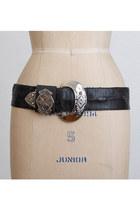 black vintage belt