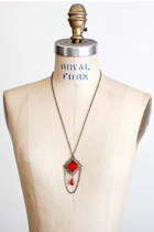 Red Vintage Necklaces