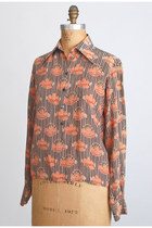 Light Orange Vintage Chloe Shirts