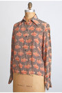 Light-orange-vintage-chloe-shirt