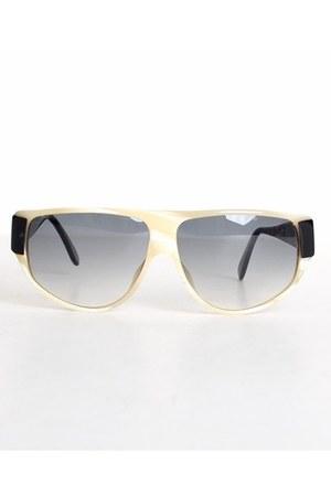 ivory vintage anne klein sunglasses