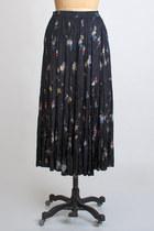 Black Vintage Skirts