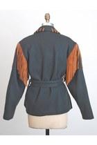 Teal Vintage Jackets