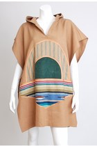 camel vintage cape
