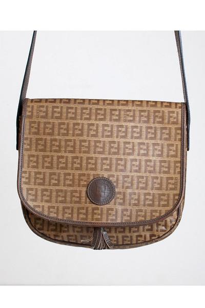 c56b7c02a099 Brown Vintage Fendi Bags