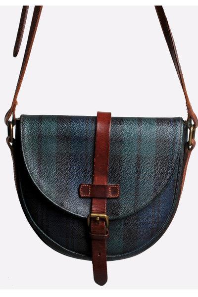 1b82bfed2cf Vintage 90s TARTAN Ralph Lauren PURSE   1990s Plaid Canvas Leather Shoulder  Bag. Updated on Jan 05