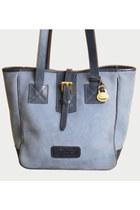 Vintage 90s DOONEY & BOURKE PURSE / 1990s Shopper Tote Bag