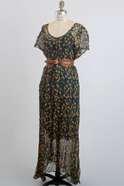 Dark Green Vintage Dresses