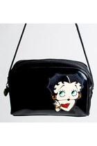 Vintage 90s Patent Vinyl Betty Boop Shoulder Bag