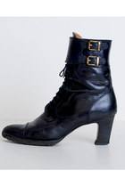 Black Vintage Ralph Lauren Shoes